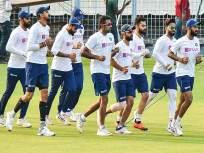 इडन गार्डन्स स्टेडियम रंगले गुलाबी रंगात; बांगलादेशविरुद्ध यजमान भारताचे पारडे जड