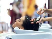 केस गळणं थांबवण्यासोबतच अनेक समस्यांसाठी फायदेशीर ठरतं हेअर स्पा, जाणून घ्या कसं