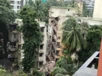 खारमध्ये पाच मजली इमारतीचा भाग कोसळला