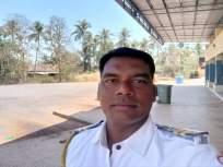"Coronavirus : ""माणसाच्या कामाक उद्या माणूसच येतलो"";खाकीतला वॉरियर्स कलेतून देतोय संदेश - Marathi News   Coronavirus: Take care of humanity as much as possible, police appeal to the citizens vrd   Latest mumbai News at Lokmat.com"