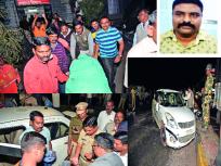 राजस्थानचे गँगस्टर-कोल्हापूर पोलिसांमध्ये गोळीबार - किणी टोलनाक्यावर चकमक