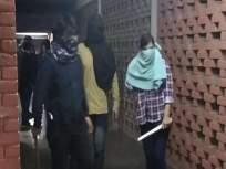 ती मी नव्हेच! JNU मध्ये मारहाण करताना व्हिडीओत दिसत असलेल्या तरुणीचा दावा