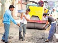 रस्त्यांची तब्बल चारशे कोटींची कामे मंजूर;मुंबई महापालिकेत बहुमताने प्रस्ताव मंजूर