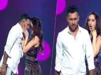 तुझ्याकडून ही अपेक्षा नव्हती...! व्हिडीओ पाहून टेरेंसवर संतापले नेटकरी - Marathi News | nora fatehi slapped on hips by terrance lewis in viral video of indias best dancers | Latest bollywood News at Lokmat.com