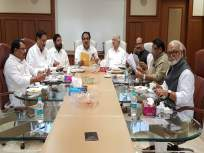 Maharashtra Government: अखेर महाशिवआघाडीची बैठक सुरू; आघाडीचे सहा तर शिवसेनेचे दोन नेते उपस्थित