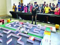 रोबोसह आधुनिक तंत्रज्ञान ठरले आयआयटी टेकफेस्टचे आकर्षण