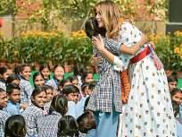 हॅप्पीनेस क्लास : शाळेत रमल्या मेलानिया