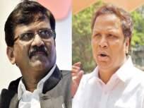 संजय राऊत यांनीच मंत्र्याना सांगावे, 'हीच ती वेळ'; आशिष शेलार यांनी आभार मानत केली विनंती - Marathi News | BJP leader Ashish Shelar has thanked Shiv Sena leader Sanjay Raut | Latest mumbai News at Lokmat.com