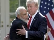 विकसनशील देशाचा दर्जा काढणारे डोनाल्ड ट्रम्प यांचे भारताला कडू कारले; शिवसेनेचा बाण