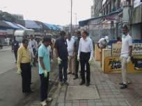 मुंबईच्या पोलीस आयुक्तांसह पोलीस आणि पालिका अधिकारी आणि कर्मचाऱ्यांनी राबवली स्वच्छता मोहीम