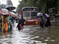 पावसाचे पाणी चाळींसह इमारतीमध्ये शिरले - Marathi News | Rainwater seeped into the building with a sledgehammer | Latest mumbai News at Lokmat.com
