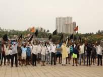 मुंबईसह राज्यातील बंदरावर काळे बावटे दाखवत मच्छिमारांनी केंद्र शासन अन् ओएनजीसी कंपनीचा केला निषेध - Marathi News | Fishermen protested against the Central Government and ONGC Company by displaying black flags on ports in the state including Mumbai | Latest mumbai News at Lokmat.com