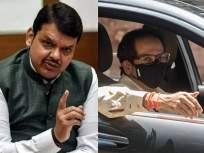 उद्धव ठाकरे चांगले चालक, पण जेव्हा ते कार चालवतात तेव्हा...; फडणवीसांचं प्रत्युत्तर - Marathi News | uddhav Thackeray is a good driver but when he drives a car there is traffic behind him says devendra fadnavis | Latest politics News at Lokmat.com