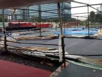 Tauktae Cyclone: बीकेसी कोविड सेंटरला चक्रीवादळामुळे नुकसान नाही, प्रशासनाच्या पूर्वतयारीला यश - Marathi News | Tauktae Cyclone BKC Covid Center not damaged by cyclone administration preparations successful | Latest mumbai News at Lokmat.com
