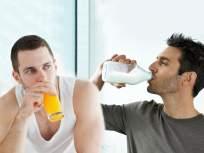 दूध की ज्यूस...सकाळचं पहिलं ड्रिंक म्हणून काय हेल्दी ठरेल?