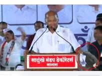 Maharashtra Election 2019: शरद पवार छत्रीतूनच स्टेजवर आले, पण भाषणावेळी वेगळेच घडले!