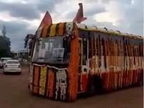 माऊलींच्या पालख्या'एसटी'ने पंढरीत दाखल  - Marathi News | Mauli's palanquin 'ST' enters Pandharpur | Latest mumbai News at Lokmat.com