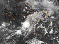 Cyclone Nisarga: निसर्ग चक्रीवादळाचा वेग वाढला; दोन तास आधीच किनारपट्टीवर धडकण्याची शक्यता - Marathi News   Cyclone Nisarga:The wind speed has increased in many parts of the Konkan coast and the wind is blowing at a speed of 85-95 hours   Latest mumbai News at Lokmat.com