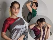 PHOTOS: साज ह्यो तुझा...! प्रिया बापटचे साडीतील फोटो पाहून पडाल तिच्या प्रेमात - Marathi News | PHOTOS: Looking at the photo of Marathmolya Priya Bapat in a sari, you will say - what's the matter ...! | Latest marathi-cinema Photos at Lokmat.com