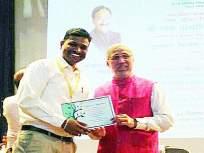 कर्जतमध्ये विद्यार्थी, शिक्षकांनी केली २,५०० वृक्षांची लागवड; राहुल धारकर महाविद्यालयाला पुरस्कार