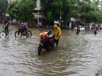 आज काही तासांतच झाली होती मुंबईची 'तुंबई'; तर बच्चे कंपनीने लुटला पावसाचा आनंद - Marathi News | Heavy rain fell in Mumbai today. As a result, many places were flooded | Latest mumbai Photos at Lokmat.com