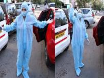 PPE किट घालून रस्त्यावर फिर फिरते अभिनेत्री, सलमान खानच्या सिनेमाचे करते प्रमोशन ! - Marathi News   Salman Khan's Movie Radhe promoted in unique way, guess the face behind PPE kit   Latest television News at Lokmat.com