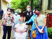 घाटकोपर येथील ९२ वर्षांच्या आजीने केली कोरोनावर मात - Marathi News | 92-year-old grandmother from Ghatkopar defeated Kelly Corona | Latest mumbai News at Lokmat.com
