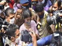 अनेकदा आत्महत्येचे विचार आलेत, माझ्या लेकीने खूप काही सोसले...! पहिल्यांदा बोलली रिया चक्रवर्तीची आई - Marathi News   rhea chakrabortys mother sandhya broke down as her daughter got bail   Latest bollywood News at Lokmat.com