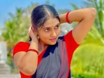 रिंकू राजगुरूच्या साडीतल्या अदा पाहून चाहते म्हणाले 'याड लागलं गं', पहा हे फोटो - Marathi News | Rinku Rajguru shared photos in Saree | Latest marathi-cinema Photos at Lokmat.com