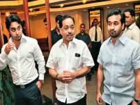 यांनी काय श्रावणबाळ जन्माला घातला का?, राणे बंधुंचा ठाकरेंवर तीव्र संताप - Marathi News | Did you give birth to Shravanbal ?, Rane brothers are very angry with Thackeray | Latest mumbai News at Lokmat.com