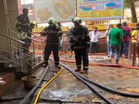 रोबोने विझविली बोरिवली येथील शॉपिंग सेंटरची आग; धुराचे लोट सर्वात मोठा अडथळा - Marathi News | Robot Extinguished fires shopping center at Borivali; Lots of smoke is the biggest obstacle | Latest mumbai News at Lokmat.com