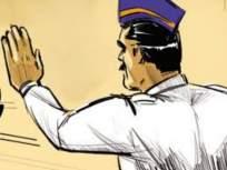 वाहतूक पोलिसांच्या टोर्इंग व्हॅनवरील कर्मचाऱ्याची तरूणाला धक्काबुक्की - Marathi News | A young man is pushed by a staff member on a traffic police towing van | Latest thane News at Lokmat.com