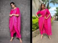 OMG! सई ताम्हणकरने कॉपी केली संस्कारी बहू श्वेता तिवारीची स्टाईल, पहा फोटो - Marathi News | OMG! Sai Tamhankar copied the style of cultured daughter-in-law Shweta Tiwari, see photo | Latest marathi-cinema Photos at Lokmat.com