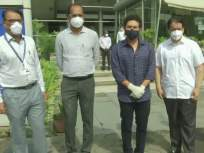 सचिन तेंडुलकरनं केलं कोरोनामुक्त झालेल्या रुग्णांना आवाहन; प्लाझ्मा थेरपी विभागाचं केलं उद्धाटन - Marathi News | Sachin Tendulkar inaugurates COVID-19 Plasma Therapy unit at Mumbai's Seven Hills Hospital | Latest cricket News at Lokmat.com