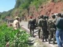 जम्मूमध्ये रहदारीच्या महामार्गावर आयईडी बॉम्ब नष्ट केला