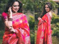 लाल सिल्क साडीत मराठमोळी अभिनेत्री श्रुती मराठे दिसतेय झक्कास!, फोटो पाहून पडाल प्रेमात, SEE PHOTOS - Marathi News | Marathmoli actress Shruti Marathe in red silk saree looks stunning !, will fall in love after seeing the photo, SEE PHOTOS | Latest marathi-cinema Photos at Lokmat.com