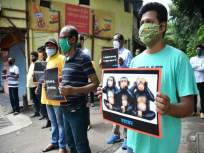 स्मशानभूमीला हवा मोकळा श्वास; अंत्यसंस्कारांचा अतिताण कमी करण्यासाठी मनसेचे आंदोलन - Marathi News | Breathe in the air at Shivaji Park Cemetery; MNS agitation to reduce the stress of funerals | Latest mumbai News at Lokmat.com