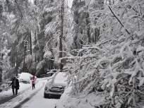 काश्मीर, हिमाचल प्रदेश, उत्तराखंडात प्रचंड हिमवृष्टी सुरूच