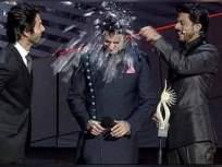 आयुषमानच्या डोक्यावर शाहरुख खानने फोडली काचेची बाटली, व्हिडीओ झाला व्हायरल