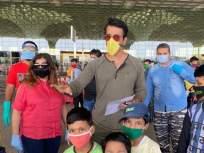 'सोनू' दा मुंडा... १७३ मजुरांना चार्टर्ड विमानाने पाठविले डेहराडूनला! - Marathi News | 173 laborers sent to Dehradun by chartered plane! | Latest mumbai News at Lokmat.com