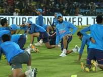 आयसीसी वर्ल्डकप 2019 : भारतीय संघाने केली BIB snatching प्रॅक्टिस, पाहा व्हिडीओ