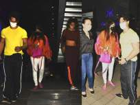 गर्लफ्रेंड दिशा पटानी आणि फॅमिलीसोबत डिनरला गेला टायगर श्रॉफ, फोटो आले समोर - Marathi News | Tiger Shroff went to dinner with his girlfriend Disha Patani and family, the photo came in front | Latest bollywood News at Lokmat.com