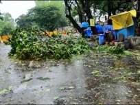 Cyclone Nisarga Live Updates: निसर्ग चक्रीवादळ मुंबई, ठाण्याच्या दिशेनं; अनेक भागांत झाडं कोसळल्यानं मोठं नुकसान - Marathi News | Cyclone in Mumbai Live Updates Nisarga cyclone dos and donts warning from CM uddhav thackeray Maharashtra on alert | Latest maharashtra News at Lokmat.com