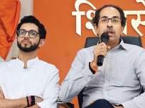 """""""एक वेळ अशी येईल की एका मित्र मंडळाकडे जास्त कार्यकर्ते असतील पण शिवसेनेत नसतील"""" - Marathi News   BJP leader Nilesh Rane has taunt to Shiv Sena   Latest mumbai News at Lokmat.com"""
