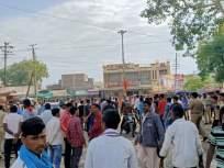 पश्चिम वऱ्हाडात भारत बंदला गालबोट;पातूरमध्ये सौम्य लाठीचार्ज : रिसोड, कारंजात दुकानांवर दगडफेक!