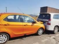 मुंबई-नाशिक महामार्गावर झाला विचित्र अपघात - Marathi News | Strange accident happened on Mumbai-Nashik highway | Latest mumbai News at Lokmat.com