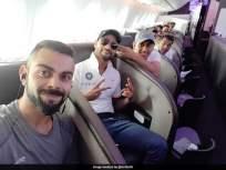 विराट निघाला वेस्ट इंडिज जिंकायला; पाहा त्याच्या बाजूला बसलंय तरी कोण...