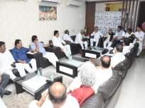 पावसाळी अधिवेशनाच्या पूर्वसंध्येला संसदीय कार्यमंत्री विनोद तावडे यांनी घेतली विरोधी पक्ष नेत्यांची भेट