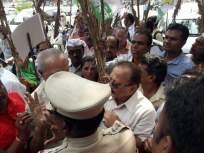 पोलिसांनी अडवल्यामुळे नागपुरात शेतकरी आंदोलनकर्ते संतप्त