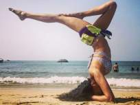 Amazing या अभिनेत्रीने केलेल्या योगाला तोडच नाही, वयाच्या चाळीशी ओलांडल्यानंतरही आहे इतकी फिट